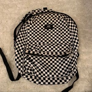 Checkered vans backpack